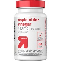 Apple Cider Vinegar Supplement Tablets - 60ct - Up&Up™