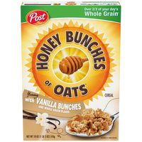Honey Bunches Of Oats Honey Bunches of Oats with Vanilla Bunches Cereal
