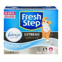 Fresh Step Extreme with Febreze Freshness, Clumping Cat Litter, Scented, 20 Pounds