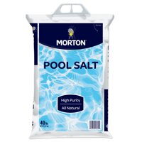 Morton® Pool Salt, 40 lb. Bag – All Natural, Highly Rated