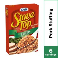 Kraft Stove Top Stuffing for Pork Mix, 6 oz Box