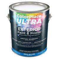 Color Place Ultra Semi-Gloss Exterior Paint & Primer Accent Base 1-Gal