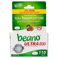 beano Ultra 800 Gas Prevention & Bloating Relief - 110ct