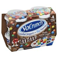 YoCrunch Lowfat Vanilla with M&Ms Yogurt