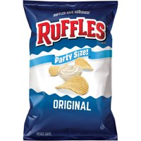 Ruffles Party Size Original Potato Chips, 14.5 Oz.