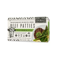 Tribali Foods Mediterranean Style Beef Patties
