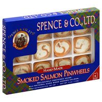 Spence & Co. Pinwheels, Smoked Salmon