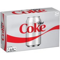 Coca-Cola Diet Soda, 12Fl. Oz., 24 Count
