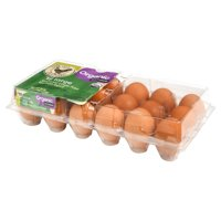 Marketside Organic Cage Free Large Brown Grade A Eggs, 18 Count