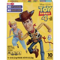 Disney Toy Story Fruit Snacks 10 pouches