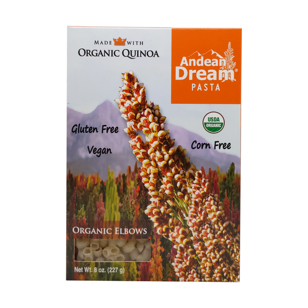 Andean dream Organic Pasta Elbows, 8 oz