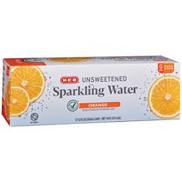 H-E-B Orange Sparkling Water
