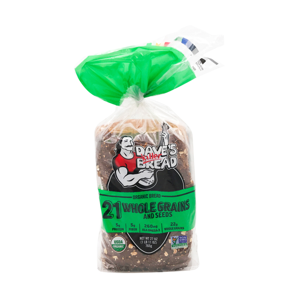 Dave's killer bread Organic 21 Whole Grains And Seeds Bread (27 Oz)