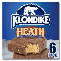 Klondike Ice Cream Bars Heath 6 ct
