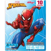 Kellogg's Other Licensed Fruit Pieces Spiderman 8oz