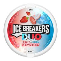 Ice Breakers DUO Strawberry Flavored Mints,