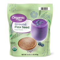 Great Value Organic Ground Flax Seed, 16 oz