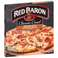 Red Baron Classic Crust Four Meat Pizza