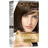 L'Oreal Paris Superior Preference Fade-Defying Color + Shine System 5 Medium Brown