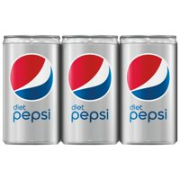 Diet Pepsi, 7.5 Fl Oz, 6 Count
