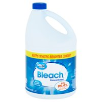 Great Value Concentrated Bleach, 121oz