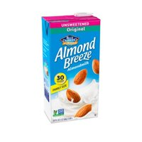 Almond Breeze Unsweetened Original Almondmilk, 64 fl oz