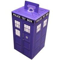 """Wisconsin Packaging Corporation Police Call Box 9.5"""" x 9.5"""" x 17"""" Flat Empty Gift Box"""