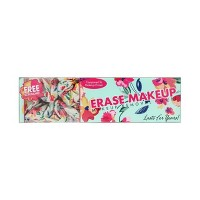 Erase Makeup Floral Reusable Makeup Removal Towel plus Scrunchie