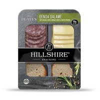 Hillshire® Snacking Small Plates, Genoa Salame Deli Lunch Meat and White Cheddar Cheese, 2.76 oz