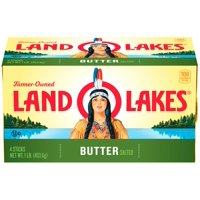 Land O Lakes Salted Butter Sticks, 16 Oz., 4 Count