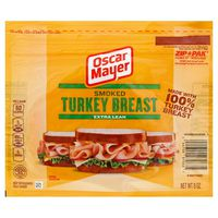 Oscar Mayer Extra Lean Smoked Turkey Breast Cold Cuts