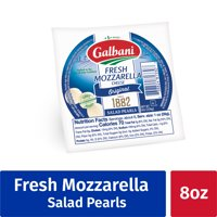 Galbani Fresh Mozzarella Cheese Salad Pearls, 8 oz