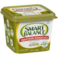 Smart Balance Omega-3 Buttery Spread with Extra Virgin Olive Oil - 13oz