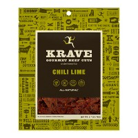 Krave Chili Lime Gourmet Beef Cuts Jerky - 2.7oz