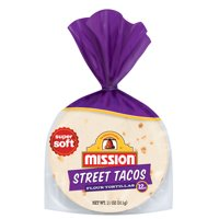 Mission Street Taco Flour Tortillas, 12 Count