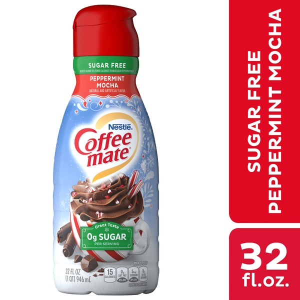 Nestlé Coffee Mate Peppermint Mocha Sugar Free Liquid Coffee Creamer