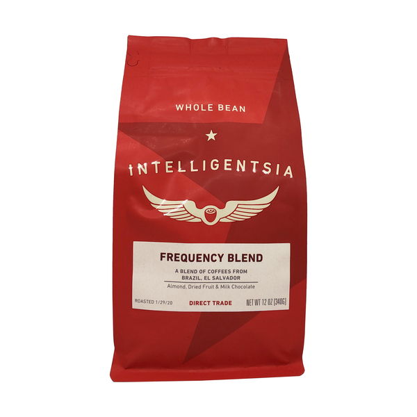Intelligentsia Frequency Blend Coffee, 12 oz