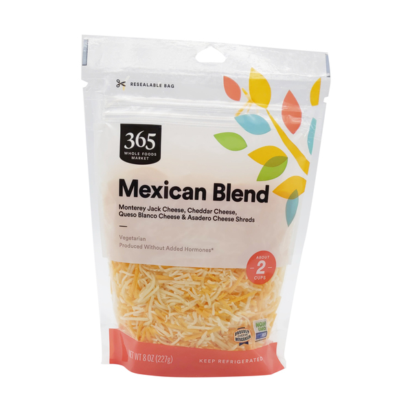 365 everyday value® Shredded Mexican Blend, 8 oz