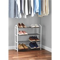 Mainstays 4 Tier Shoe Rack