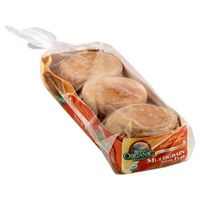Rudis English Muffins, Organic, Multigrain, with Flax