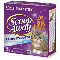 Scoop Away Extra Strength Clumping Cat Litter, Scented, 25 lbs