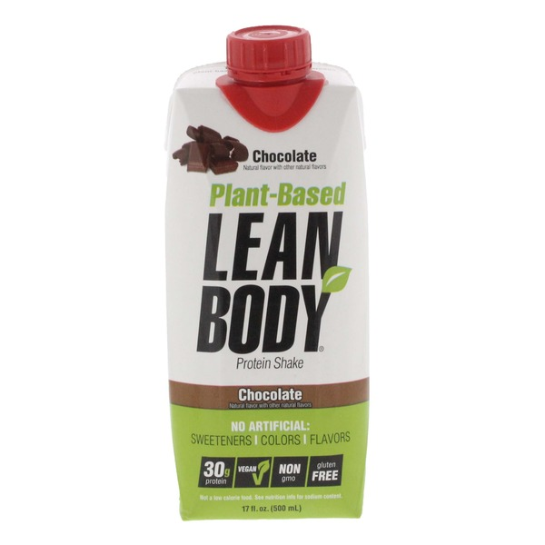 Lean Body Protein Shake, Chocolate, Plant-Based