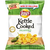 Lay's? Kettle Cooked Jalapeno Flavored Potato Chips 2.75 oz. Bag