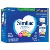 Similac Advance Infant Formula with Iron Ready-to-Feed Bottles