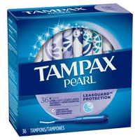 Tampax Tampons, Light Absorbency, Unscented
