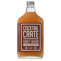 Cocktail Crate Classic Whiskey Sour Craft Mixer, 375 mL