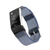 Woven Nylon Band for Fitbit® Charge 3™ - Blue