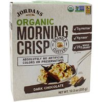 Jordan's Original Organic Dark Chocolate Crisp Cereal