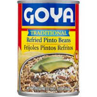 Goya Refried Pinto Beans Traditional