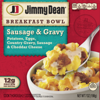 Jimmy Dean® Sausage & Gravy Breakfast Bowl, 7 oz.